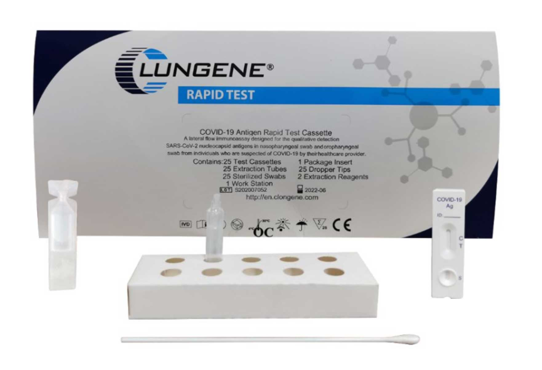 Clungene-Covid-19-Schnelltest